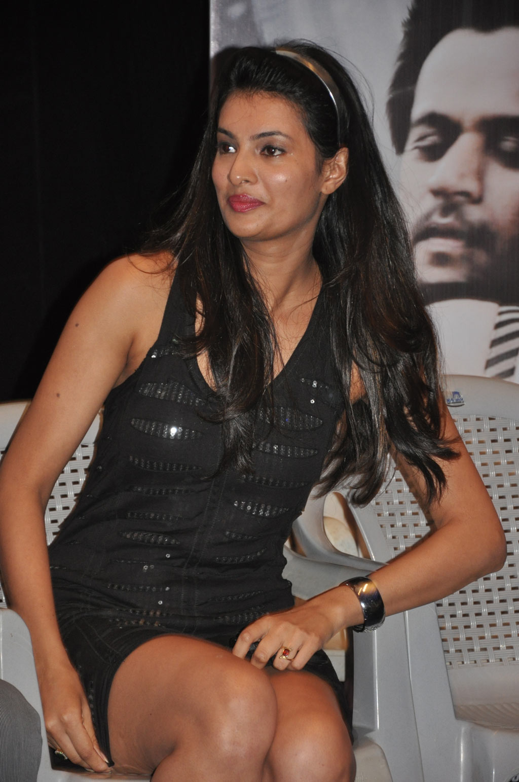 sayali bhagat spicy @ kattu puli audio launch