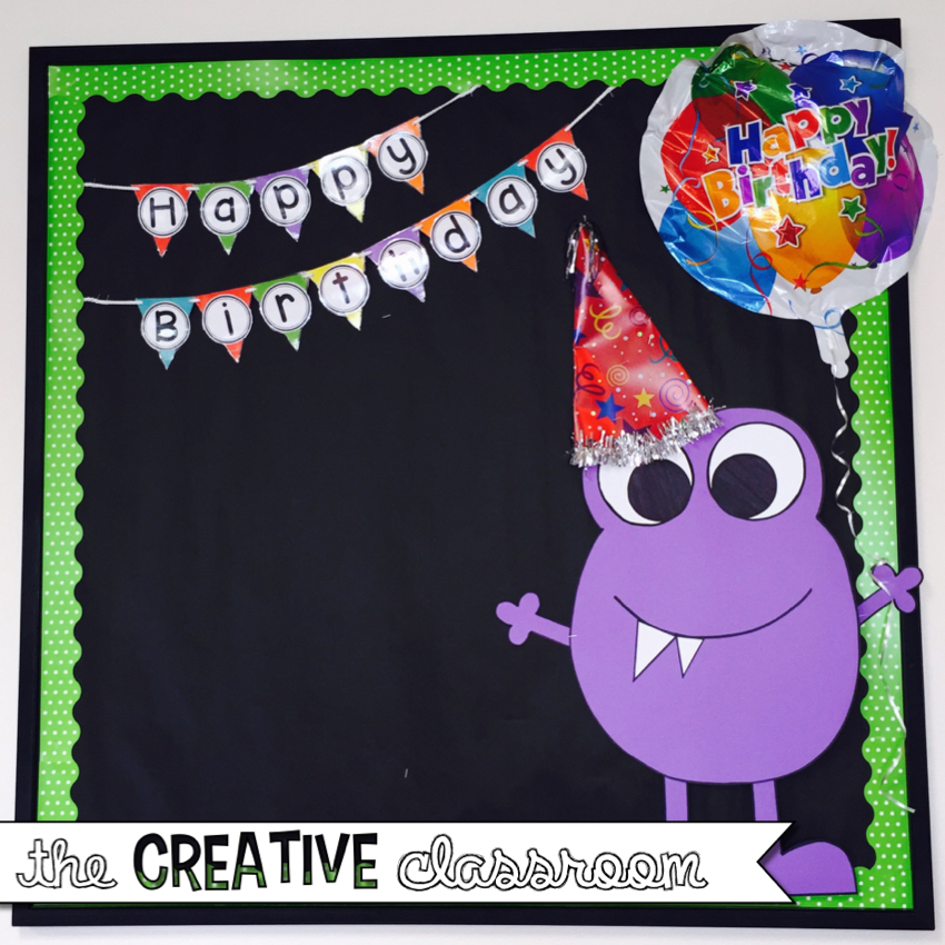 Classroom Birthday Ideas : Monster theme classroom reveal the creative