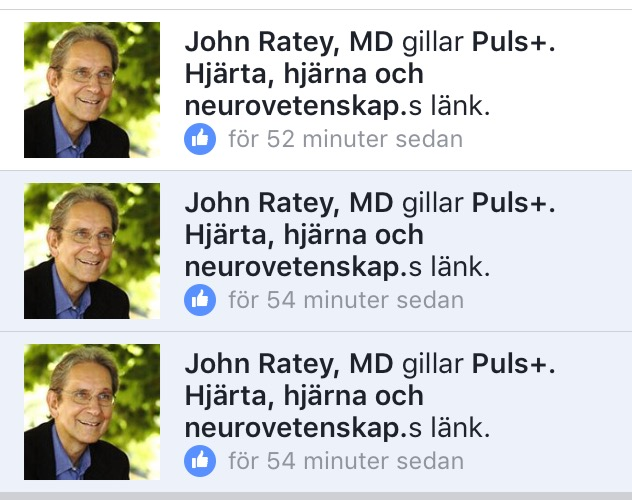 Dr John Ratey, professor at Harvard University