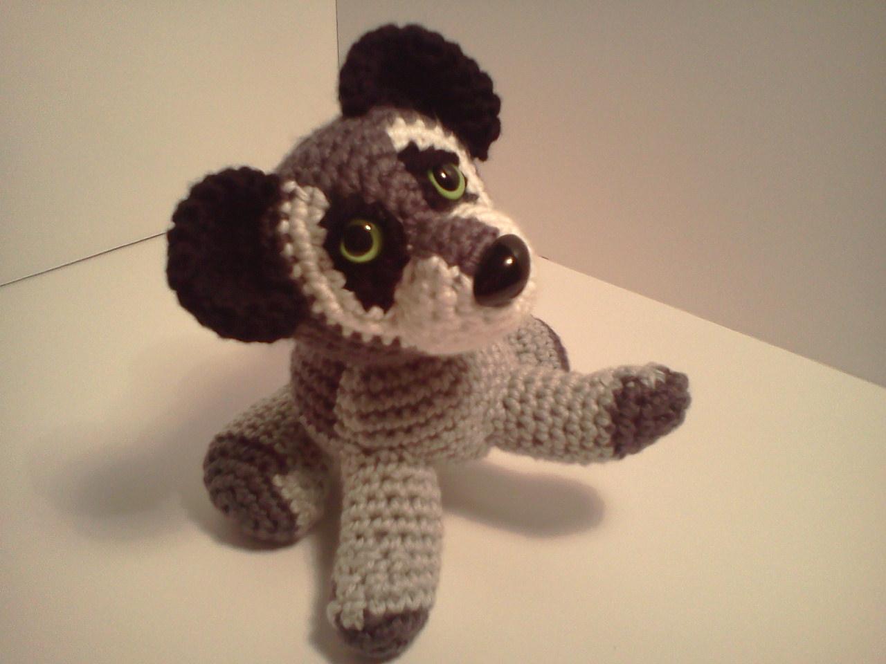 Amigurumi Raccoon : Serendipity Creative: Benjamin Baby Raccoon AmiPal ...
