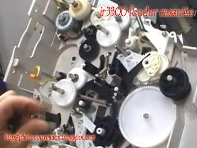 Cara memperbaiki cassette ir3300 tidak mau narik