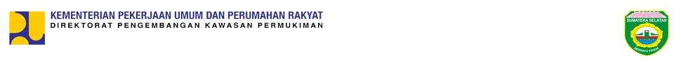 Program Penanganan Kawasan Kumuh Perkotaan Provinsi Sumatera Selatan