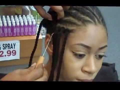 Crochet Yarn Braids LONG HAIRSTYLES