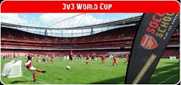 3vs3 Arsenal Soccer Schools World Cup 2015