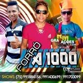 FORRÓ A1000 2016 - CD AVIÃOZINHO SUBIU [ PROMOCIONAL DE AGOSTO ]