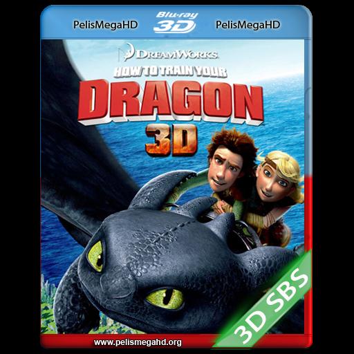 CÓMO ENTRENAR A TU DRAGÓN (2010) FULL 3D SBS 1080P HD MKV ESPAÑOL LATINO