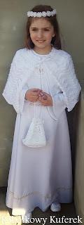 wianek torebeczka pelerynka komunia święta