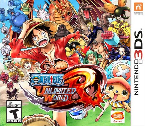 One Piece Unlimited World Red Decrypted 3DS EUR
