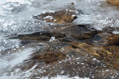 Frozen Alluvial Fan, Rocky Mountain National Park