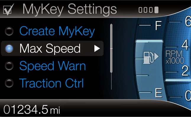 Ford MyKey Promotes Safe Driving in Fleet Vehicles