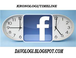 kronologi facebook timeline