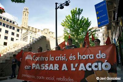 1 de Mayo, demonstrations, Lleida, manifestaciones,