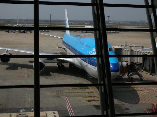 aeroporto di shanghai, KLM