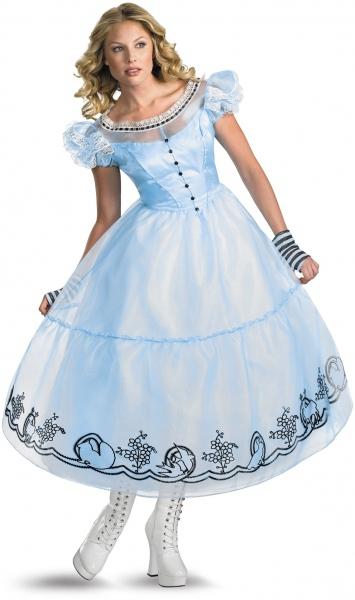 Платье алиса в стране чудес прокат