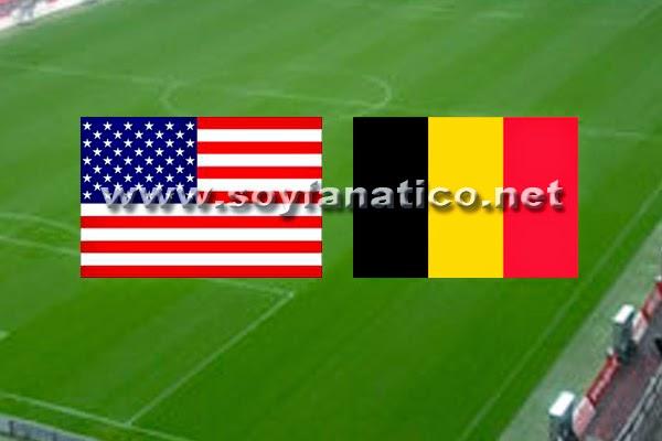 Partido USA vs Belgica Octavos Mundial 2014