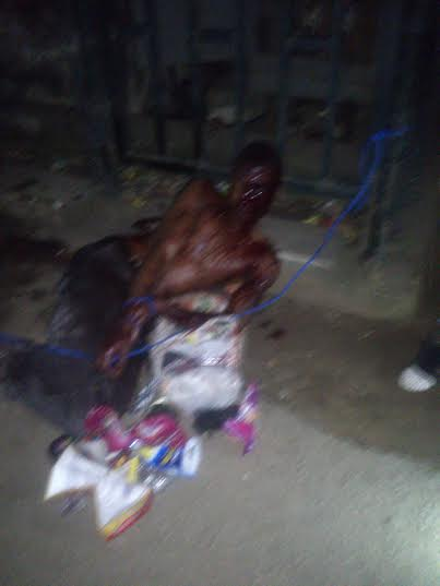 See what they did to an armed robber in Mushin (photos) 3