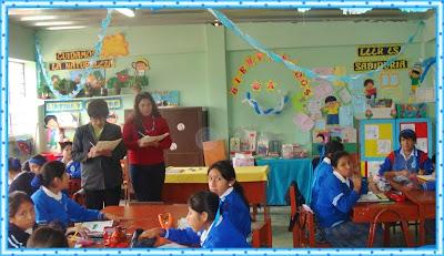 Micaela bastidas concurso de ambientacion de aulas por el for Decoracion aula primaria