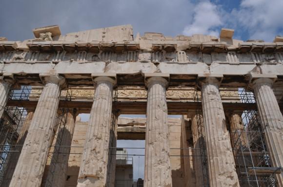 The Thirsty Gargoyle  The Parthenon Sculptures  A Reflection