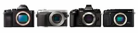 Sony-a7-Panasonic-GX7-Olympus-E-M1-Fuji-X-E2 Mirrorless Cameras
