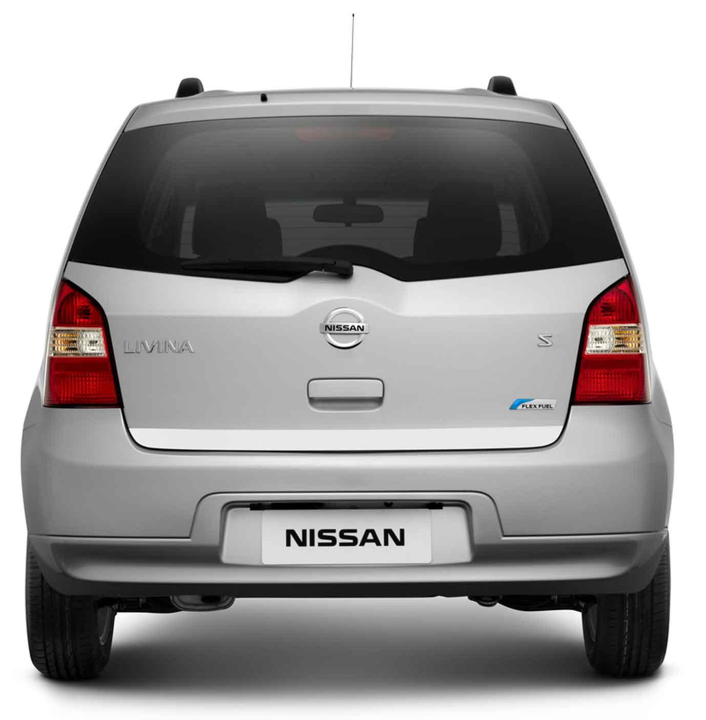 novo Nissan Livina 2014 porta malas