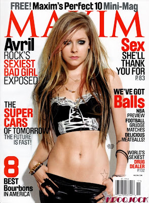 Avril Lavigne Hot Maxim Photos