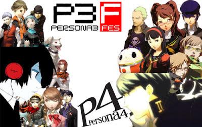 persona3 persona4 personaggi loghi