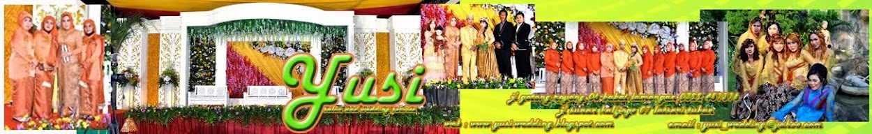 yusi salon, wedding  and decoration website
