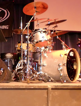 Daniel Glass' DW Drum Kit