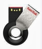 Sandisk Cruzer Orbit Cz58 32 GB Pen Drive (black) worth Rs.1862 for Rs.899 Only 5 Years Replacement Warranty