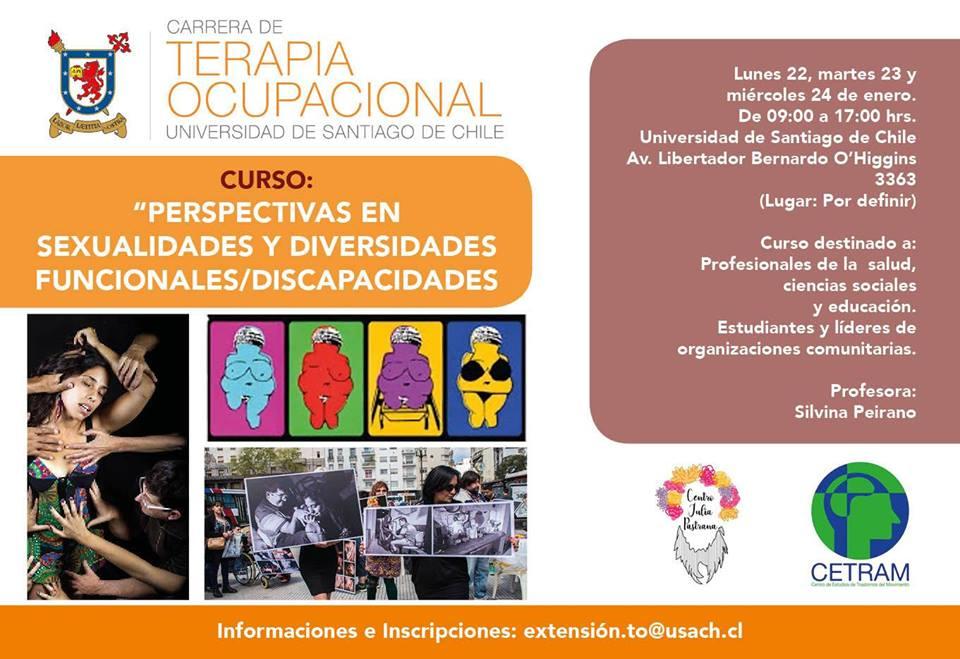 Curso «Perspectivas en Sexualidades y Diversidades Funcionales / Discapacidades»