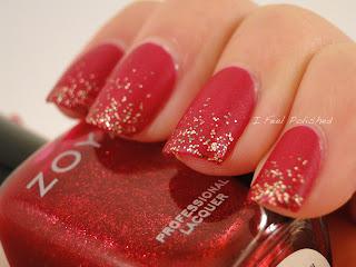 Red Glitter Gradient