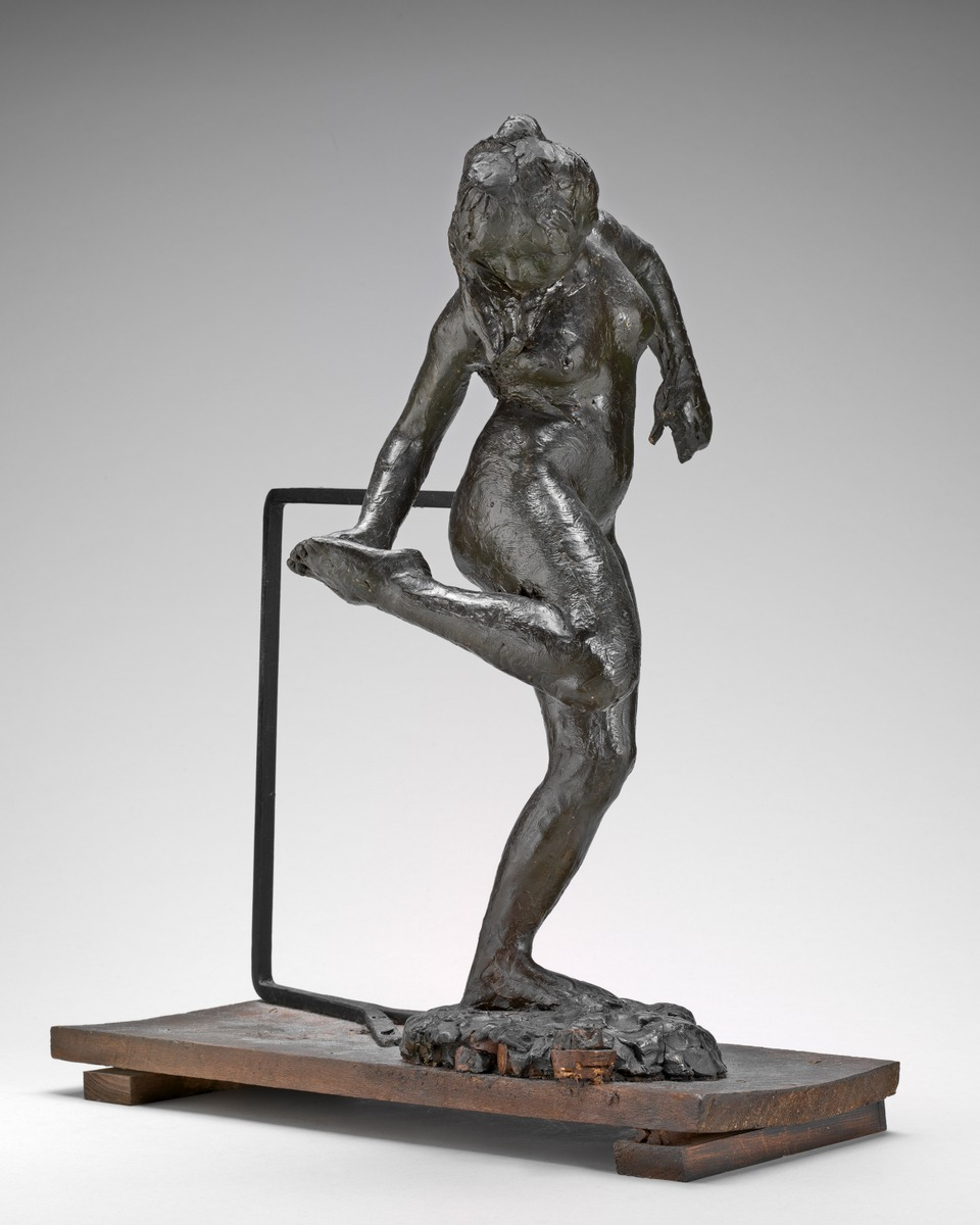 Edgar  Degas  Dancer  Looking  at  the  Sole  of  Her  Right  Foot