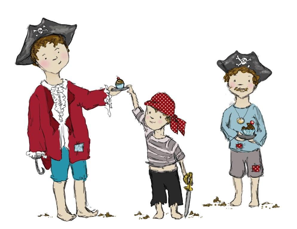 Pirates, not Cupcakes