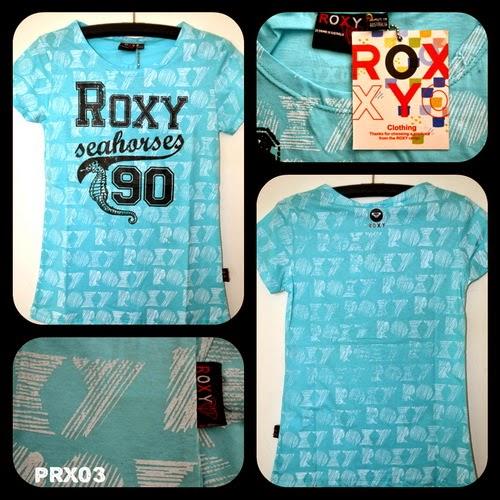 Kaos Surfing Cewek ROXY Kode PRX03