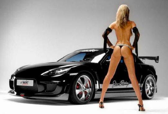 Black Mazda Rx 8 R3. 2007 mazda rx8 black