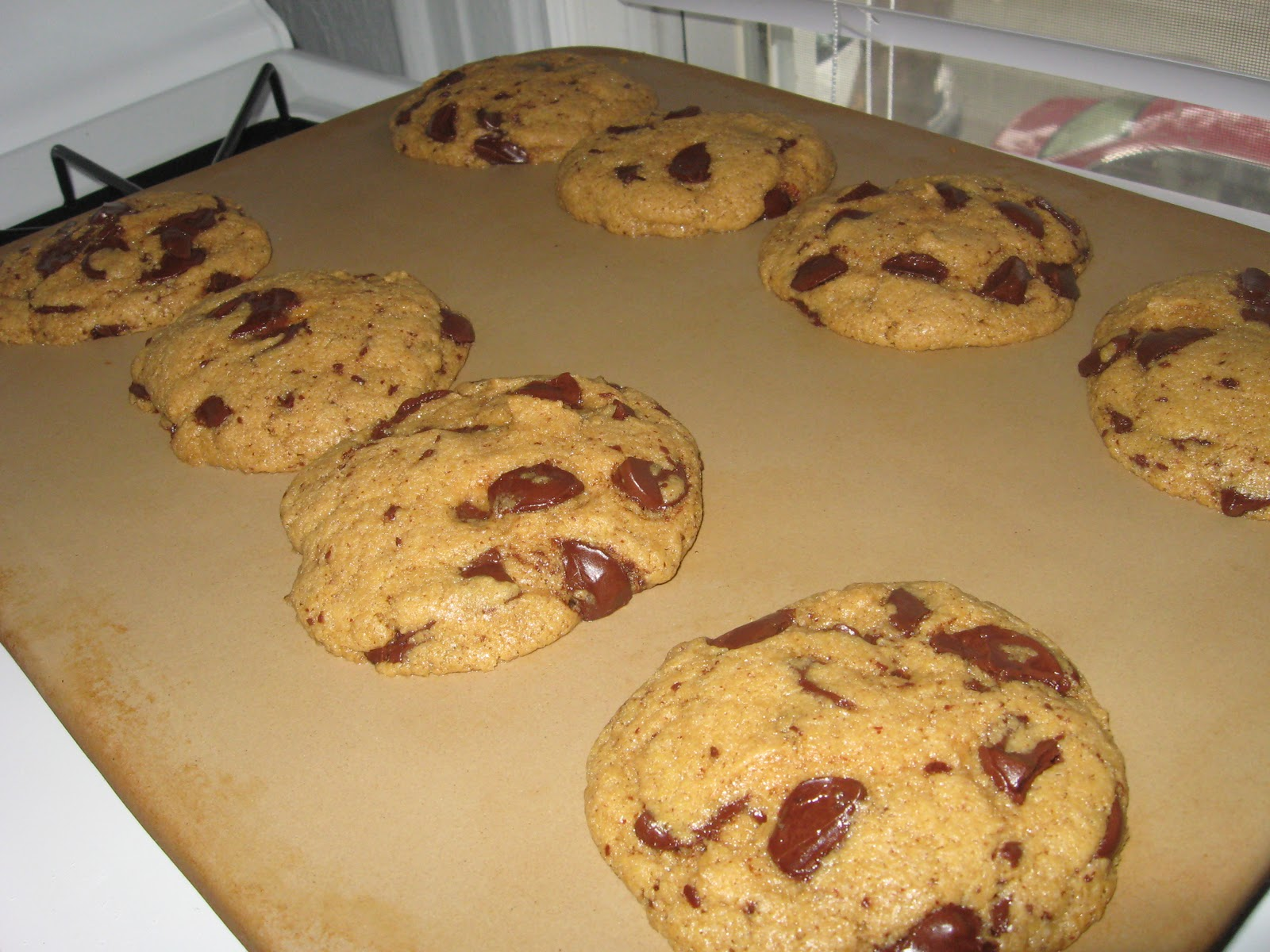 The Cooking Actress: Butter-less Peanut Butter Chocolate Chip Cookies ...