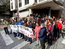 Los proyectos de Gallardón generaron numerosas protestas. J. PARDO