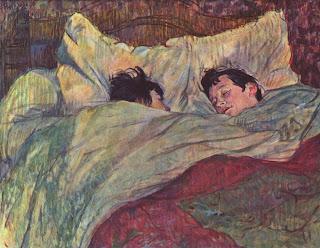Dans le lit - Henri de Toulouse-Lautrec