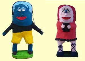 Mascotes da BE
