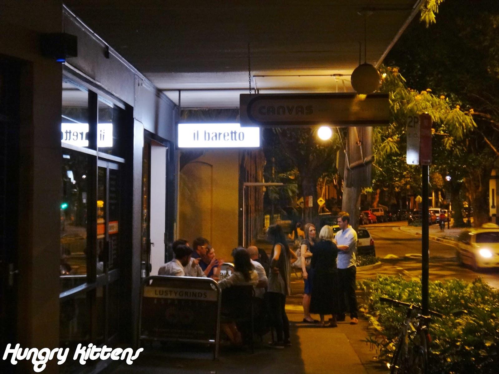 Dinner date in Sydney