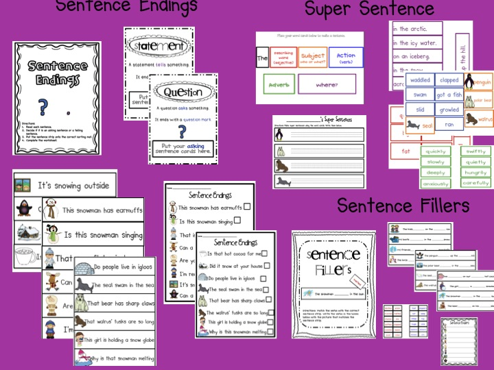 ... Grade Snippets: February Literacy Centers for first and second grade