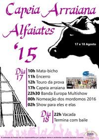Alfaiates(Sabugal)- Capeia Arraiana 2015- 17 Agosto