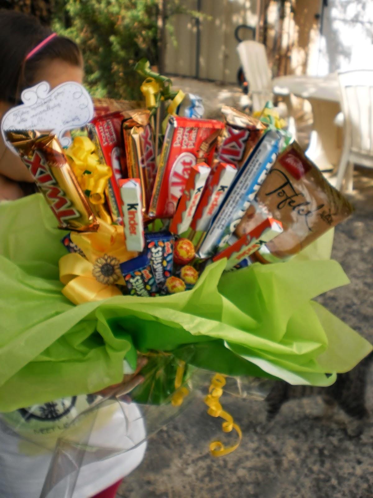 Rªves d encre Le bouquet de bonbons mon tuto