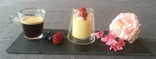 pots de crème litchi rose framboise Ispahan