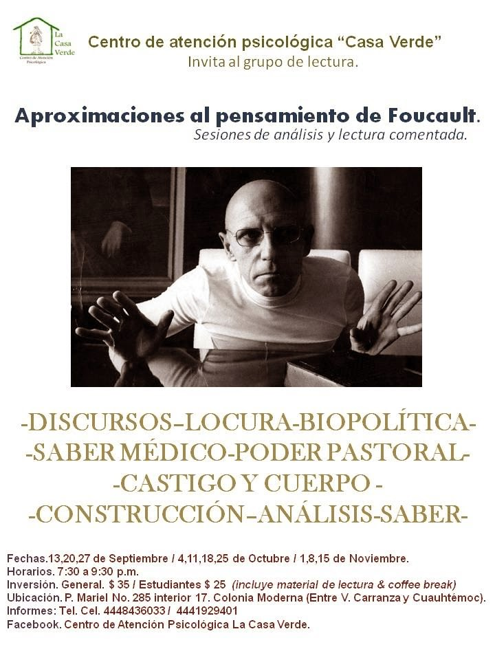 Aproximaciones al pensamiento de Foucault