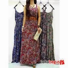 Simfoni Simpanan Info Masa Kini Model Baju Gamis Batik