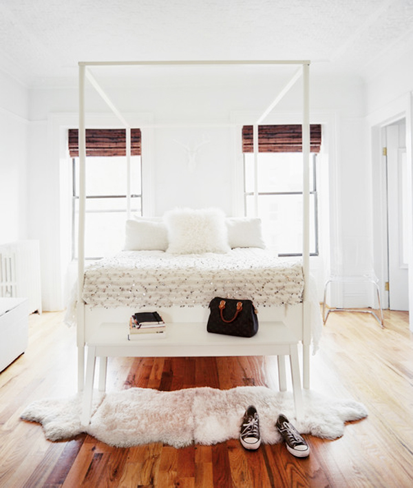 Neutral spaces b a s blog for Simple minimalist bedroom