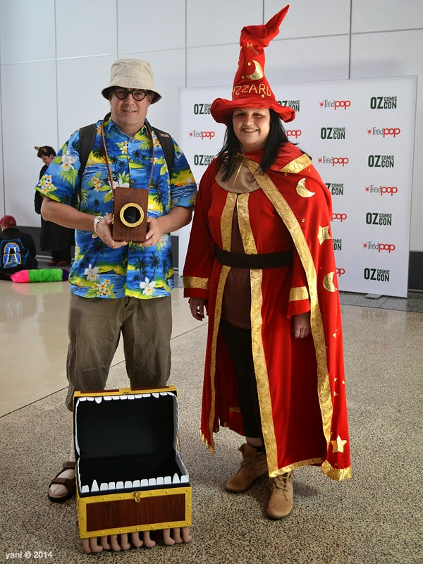 oz comic-con adelaide - discworld's colour of magic