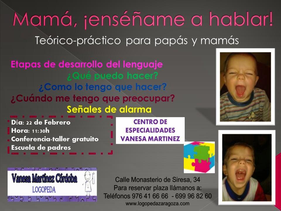 "AMPA ""EEI María Urrea"": Conferencia ""MAMÁ, ¡ENSÉÑAME A HABLAR! - photo#43"