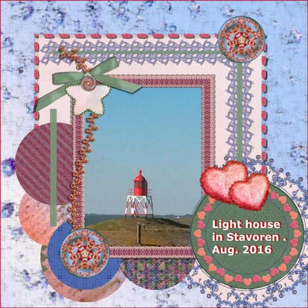 Aug. 2016 - Lighthouse in Stavoren